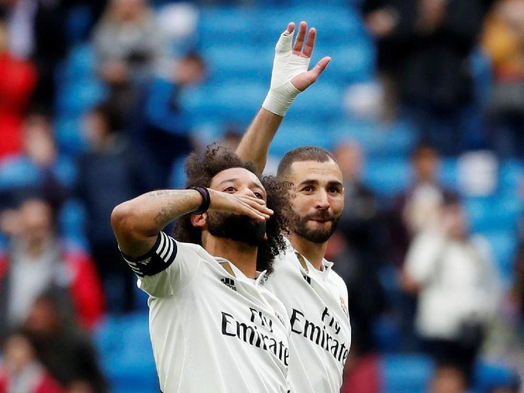 Marcelo: Madrid Kembali Kejar Tiga Gelar