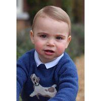 Istana Inggris Rilis Foto Imut Pangeran Louis di Ultah Pertama