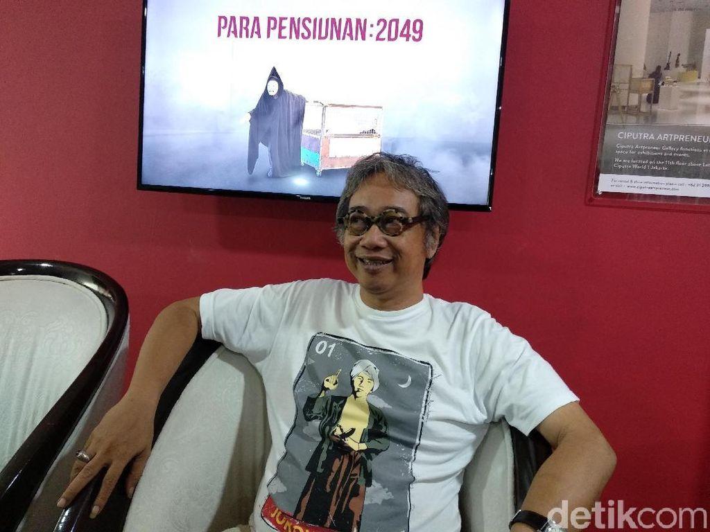 November Ini, Butet Kartaredjasa Gelar Pameran Seni Rupa di Jakarta