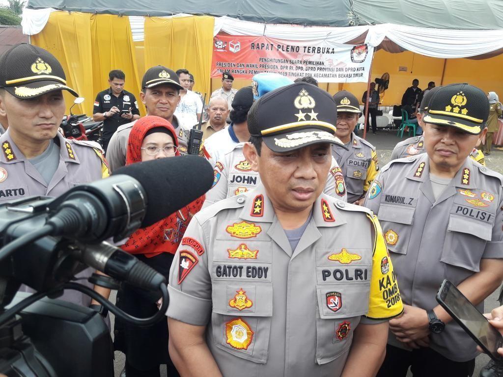 Brimob Nusantara Disebar ke DPR-Monas Antisipasi Kerawanan Pascapencoblosan