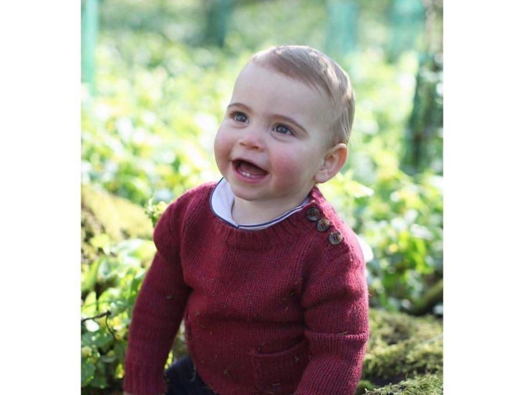 Gemas! Kate Middleton Potret Pangeran Louis Untuk Rayakan Ultah Pertamanya