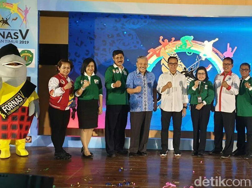 Menpora Dukung Perhelatan Fornas Edisi Kelima di Samarinda