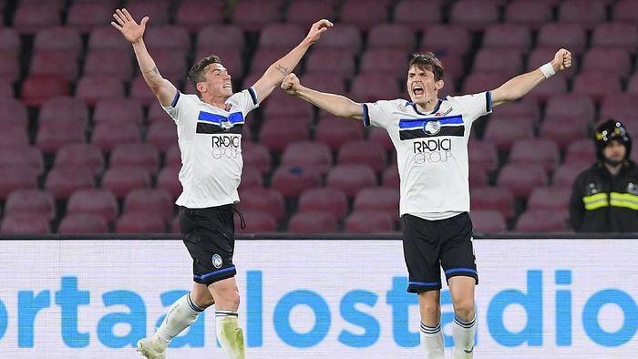 Atalanta ikut meramaikan persaingan menuju empat besar klasemen Liga Italia (Foto: Francesco Pecoraro/Getty Images)
