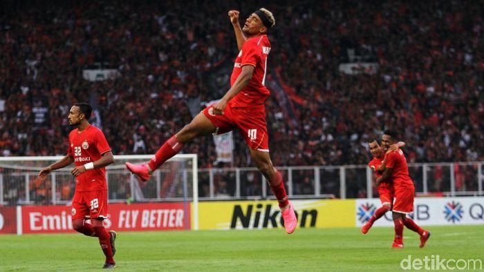 Persija Jakarta mengalihkan fokus ke Piala Indonesia. (Rifkianto Nugroho/detikSport)