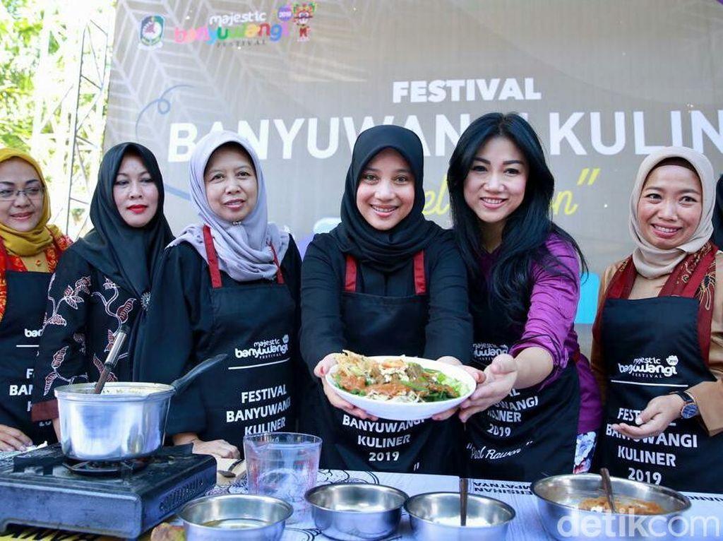 Kata Chef Vania Wibisono Soal Pecel Rawon Banyuwangi