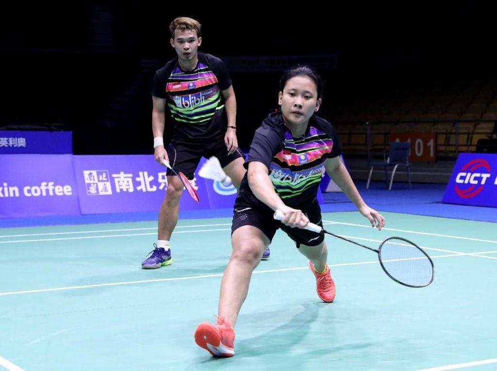 Singkirkan Juara Bertahan, Rinov/Mentari Lolos Semifinal Korea Open