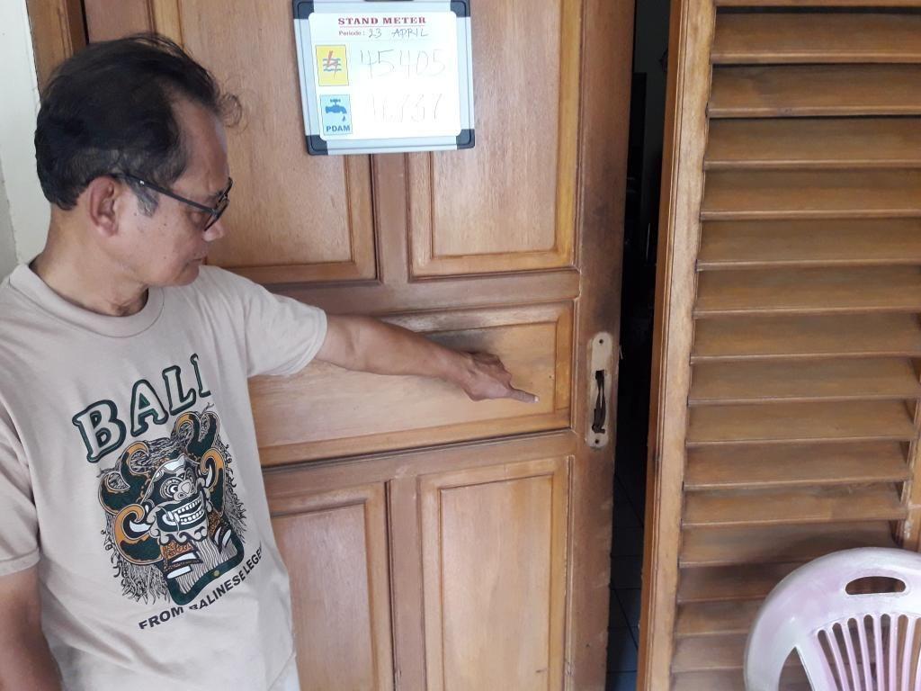 Pintu Dijebol, 2 Rumah Kosong di Bekasi Dibobol Maling