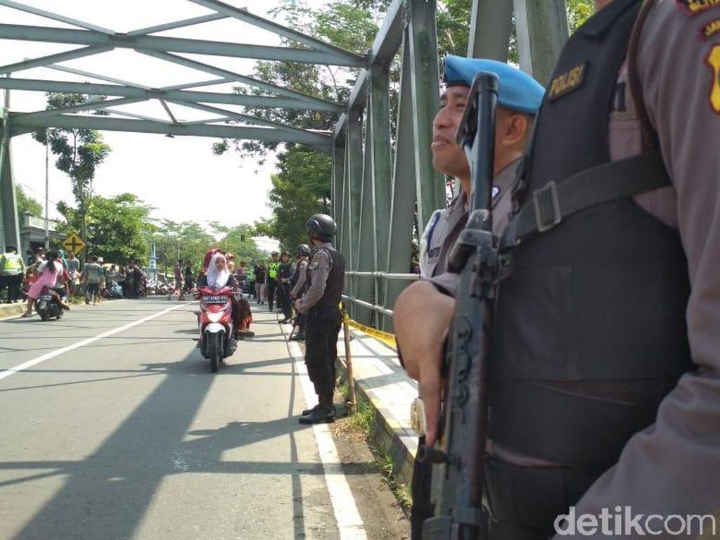 150 Personel Berjaga di Jembatan Lokasi Pembuangan Mayat Dalam Koper