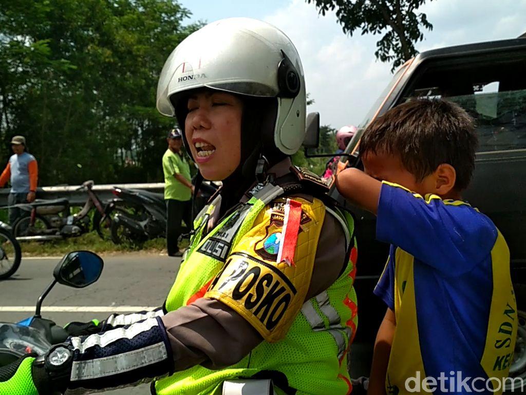 Tangis Anak SD Pecah Jelang Rekonstruksi Mayat Dalam Koper, Ada Apa?