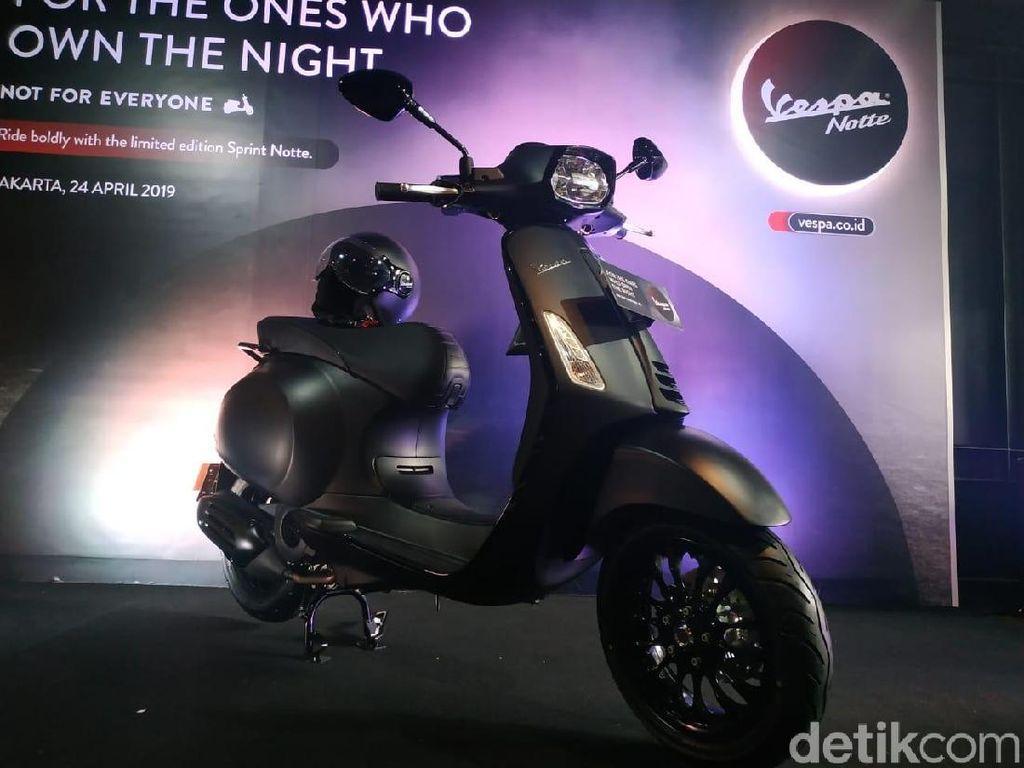 Vespa Sprint Notte 150 Akhirnya Masuk Indonesia