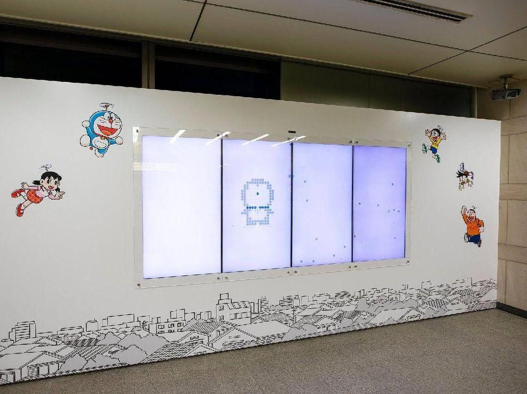 Gemas! Stasiun Kereta Untuk Pecinta Doraemon