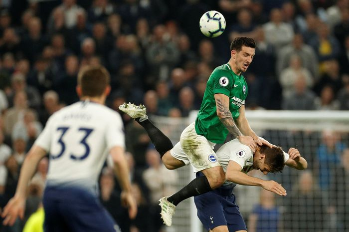 Tottenham masih 100% di kandang baru. (Foto: John Sibley/ Action Images via Reuters)