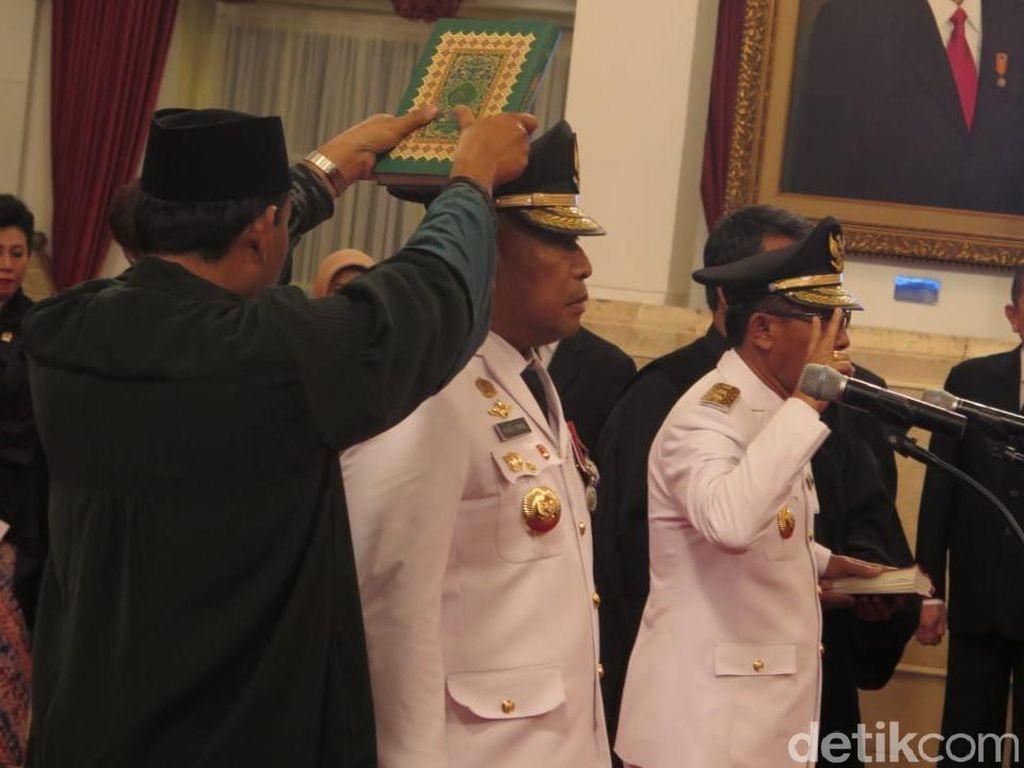 Dilantik Jokowi, Gubernur Maluku Komitmen Atasi Kemiskinan