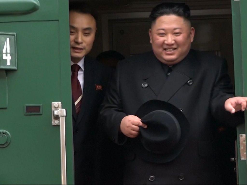 Tut Tut Tut, Melawat ke Rusia Kim Jong-un Naik Kereta