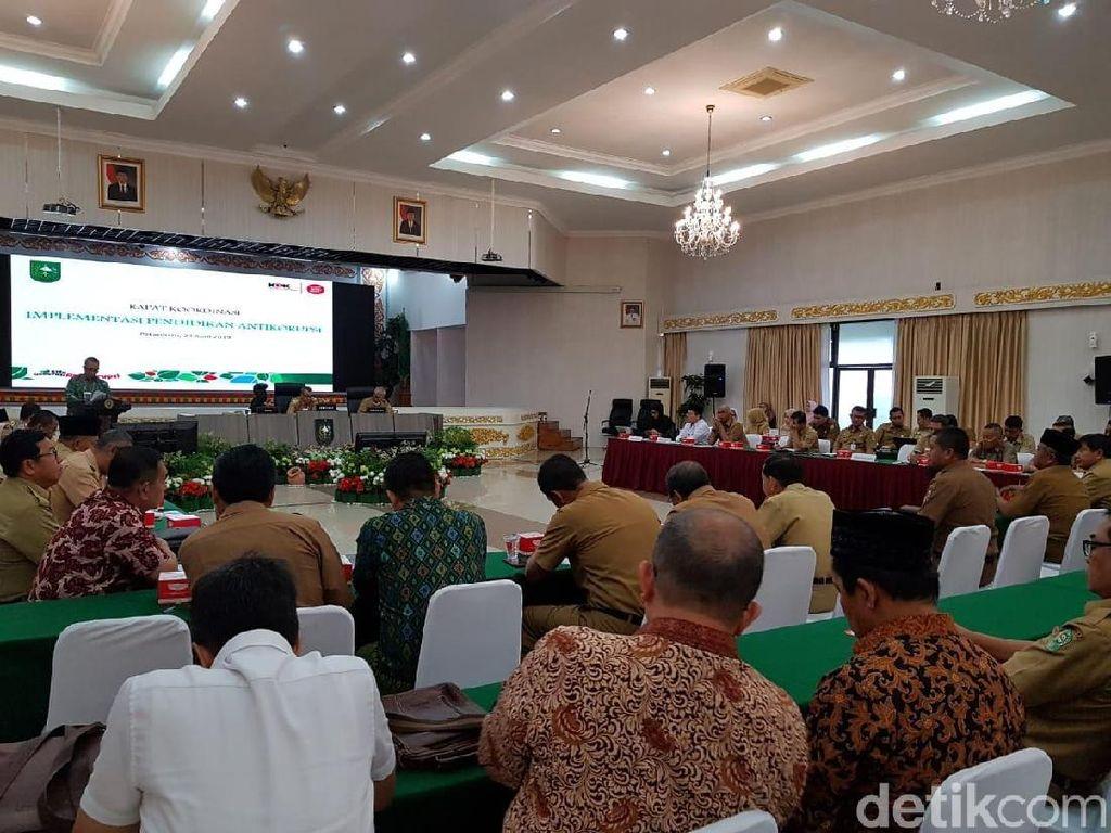Safari di Riau, KPK Soroti Rumah Dinas Jadi Kantor SKPD