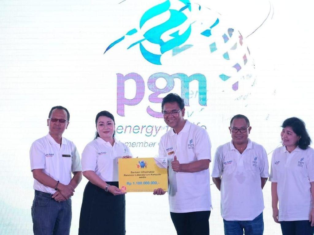 PGN Kenalkan Jenjang Karier di BUMN ke Mahasiswa Medan