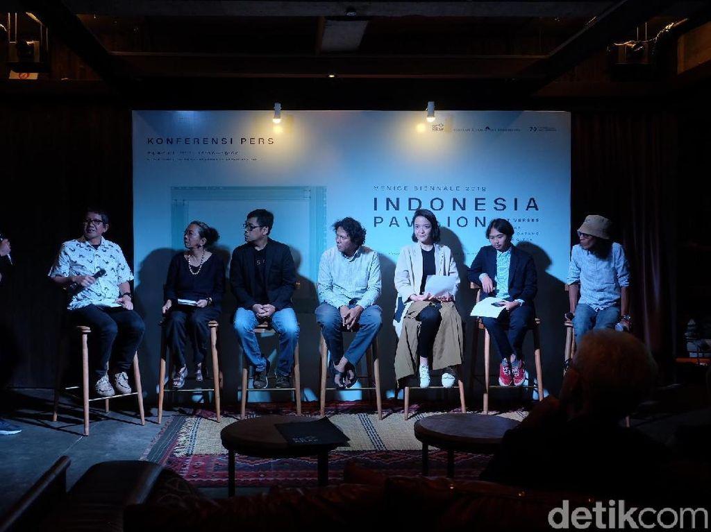 Ada Karya Apa Saja di Paviliun Indonesia Venice Art Biennale 2019?