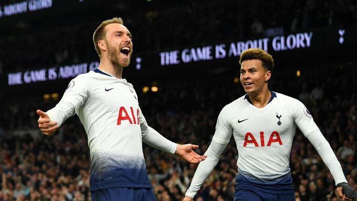 Pemain Tottenham Hotspur, Christian Eriksen. (Foto: Dylan Martinez/Reuters)