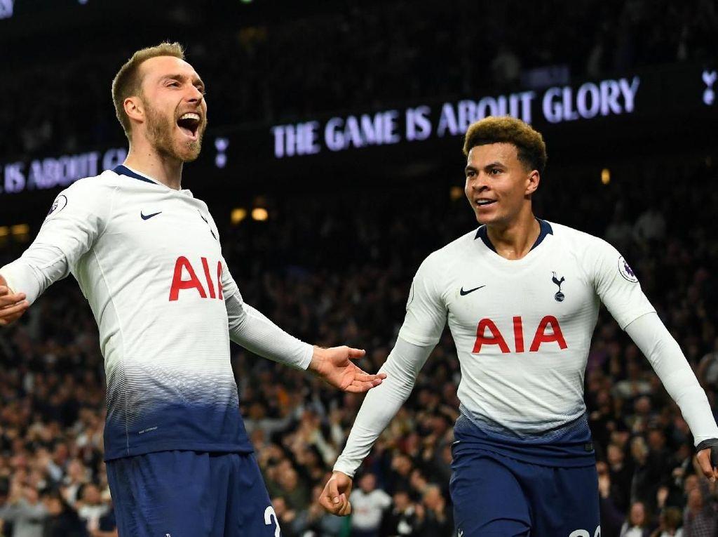 Spurs Terpacu Hasil Akhir Tim-tim Pesaing Posisi Empat Besar