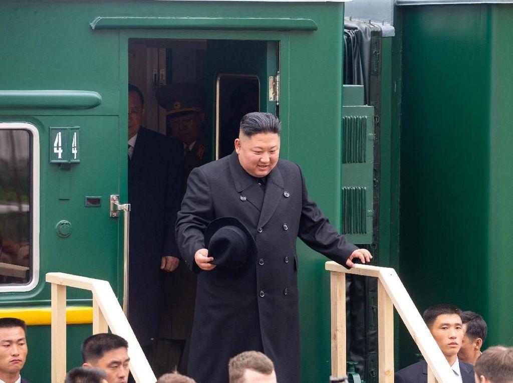 Penampakan Kereta Misterius di Tengah Isu Kematian Kim Jong-un