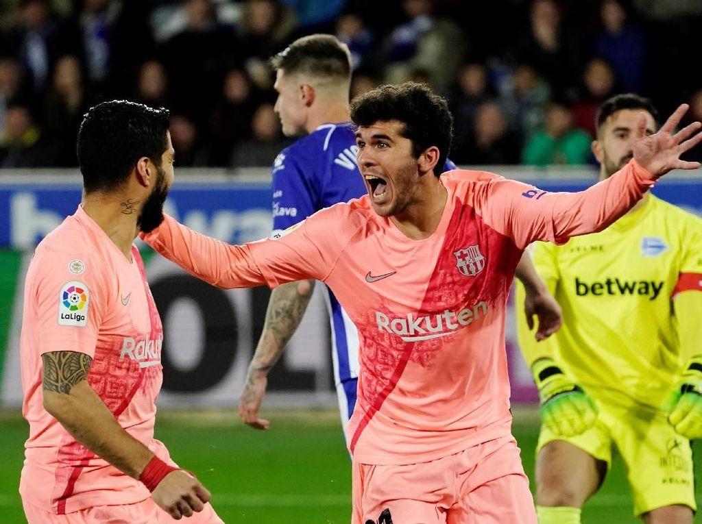 Barcelona Pinjamkan Carles Alena ke Real Betis
