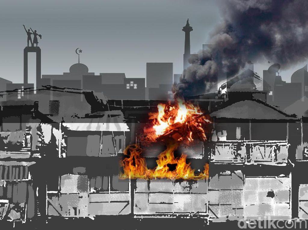 Polisi: Bocah Korban Tewas Kebakaran di Tangsel Tak Dipasung, Dikunci di Rumah