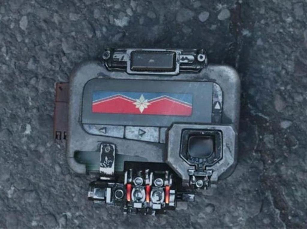 Tidit! Pager Berbunyi, Captain Marvel Siap Beraksi di Endgame