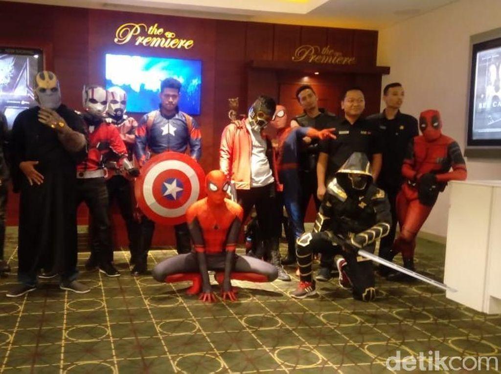 Avengers: Endgame Tayang, Para Superhero Marvel Serbu Bioskop Semarang
