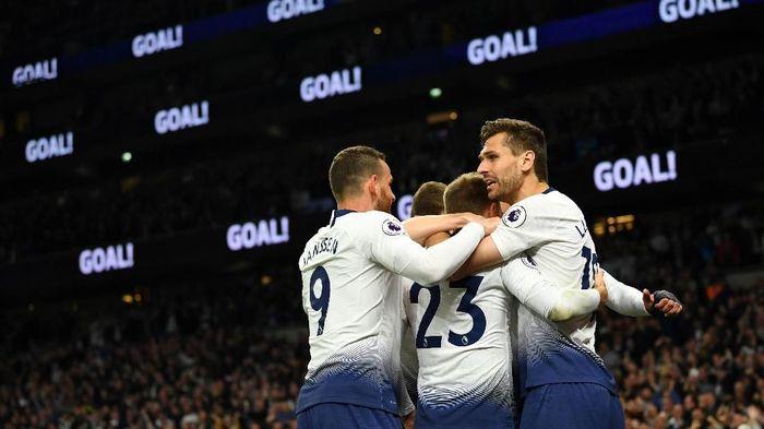 Tottenham Hotspur mengalahkan Brighton 1-0. (Foto: Dylan Martinez / Reuters)