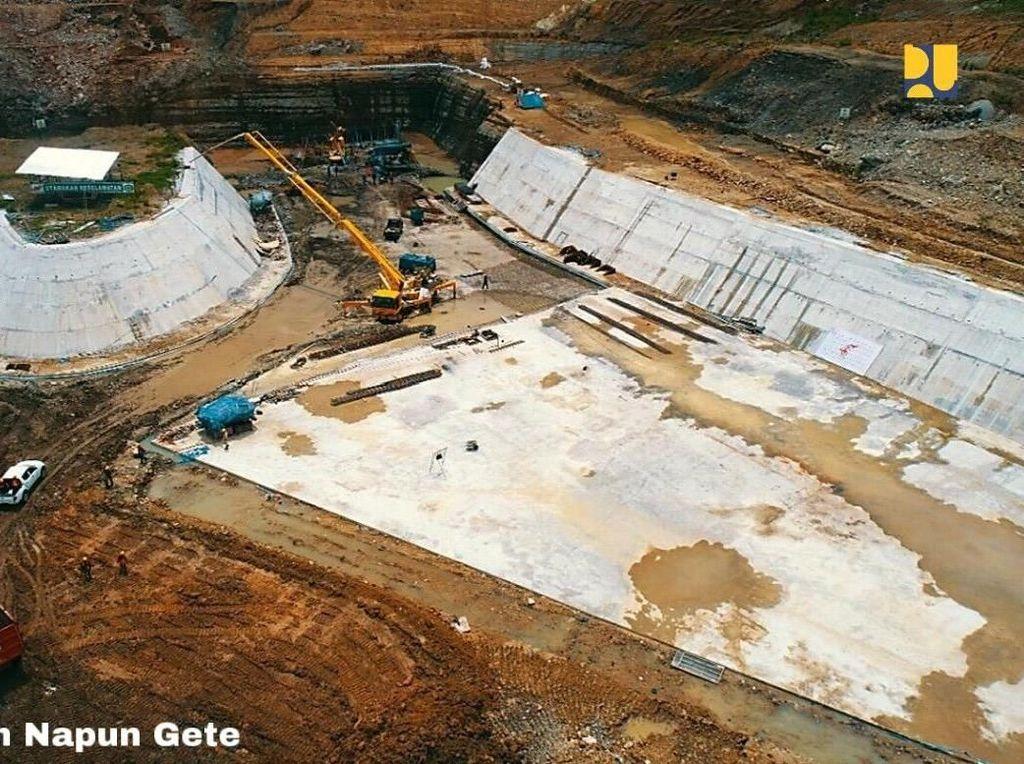 Pembangunan Bendungan Napun Gete di NTT Capai 63%