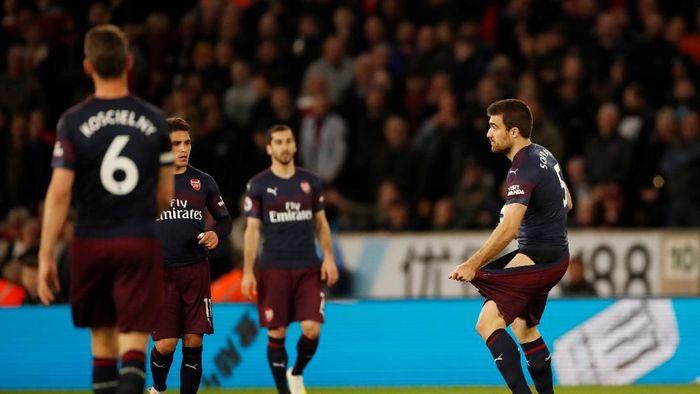 Arsenal kalah 1-3 dari Wolverhampton dan menghambat laju ke empat besar (Action Images via Reuters / Andrew Boyers)