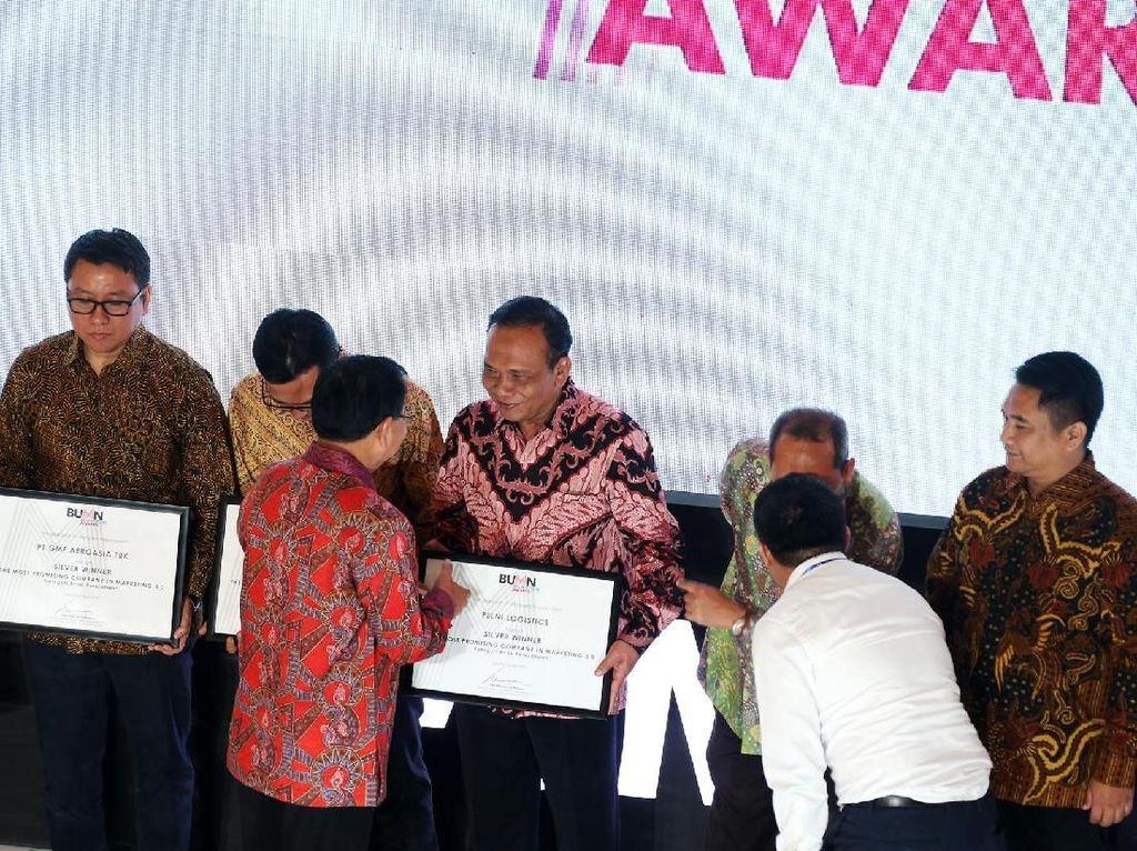 Pelni Logistics Raih BUMN Marketeers Award