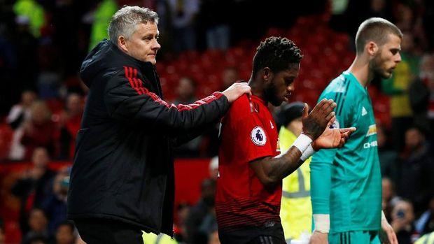 Fred bermain buruk saat Man United lawan Man City.