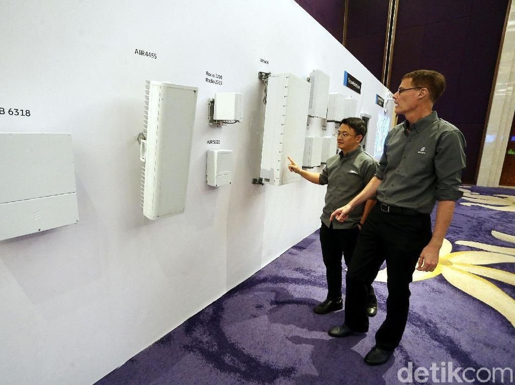 Ericsson Hadirkan 5G di Indonesia