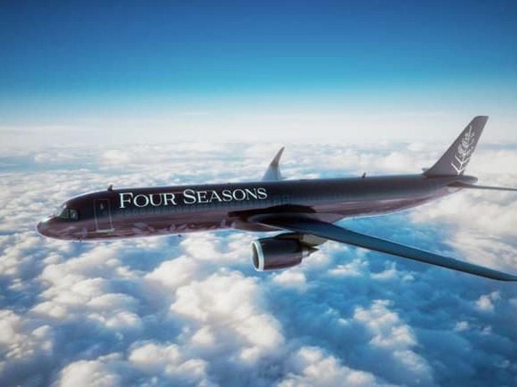 Potret Pesawat Mewah dari Four Season, Tiketnya Rp 2 M