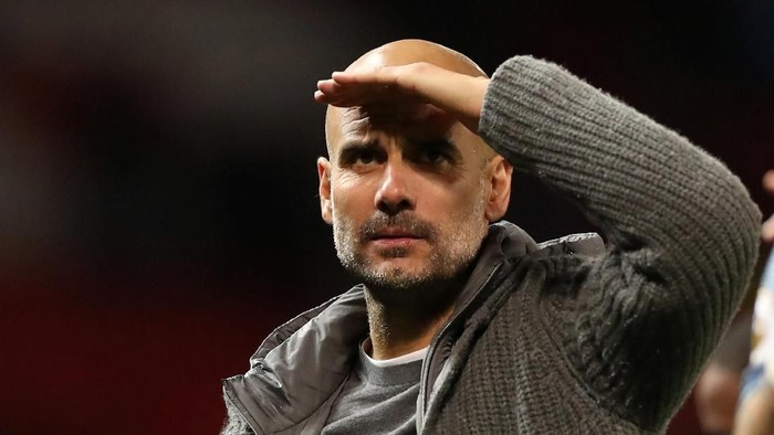 Soccer Football - Premier League - Manchester United v Manchester City - Old Trafford, Manchester, Britain - April 24, 2019  Manchester City manager Pep Guardiola after the match                    Action Images via Reuters/Carl Recine  EDITORIAL USE ONLY. No use with unauthorized audio, video, data, fixture lists, club/league logos or