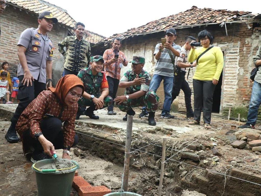 Di Serang, Bedah Rumah Warga Miskin Libatkan ASN dan TNI