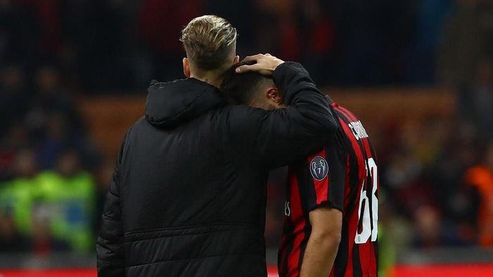 AC Milan tersingkir di semifinal Coppa Italia, melanjutkan tren buruk. (Foto: Marco Luzzani / Getty Images)