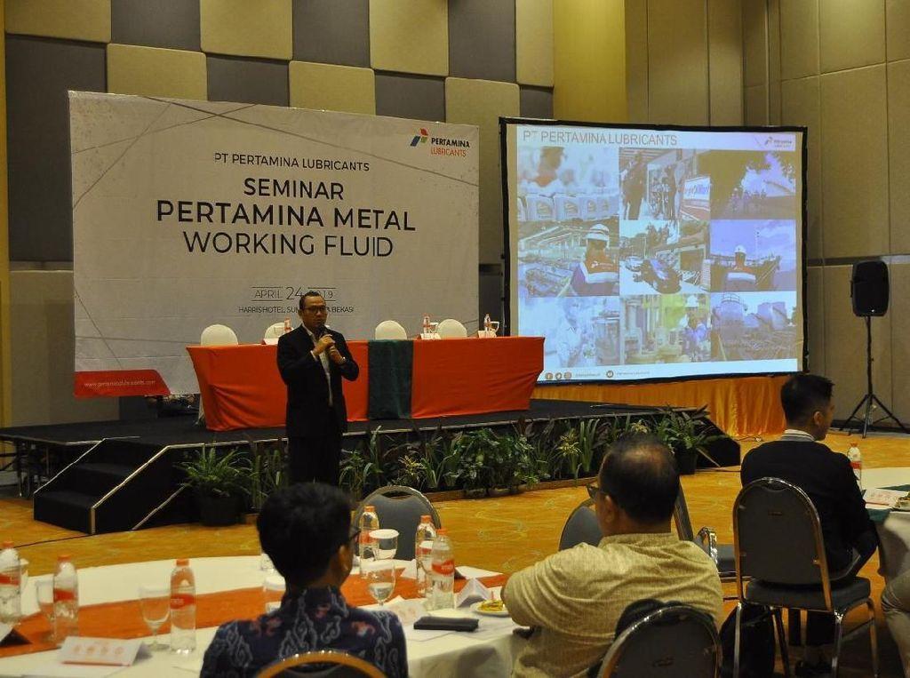 Pertamina Kenalkan Metal Fluid Maxcool ke Industri Manufaktur & Logam