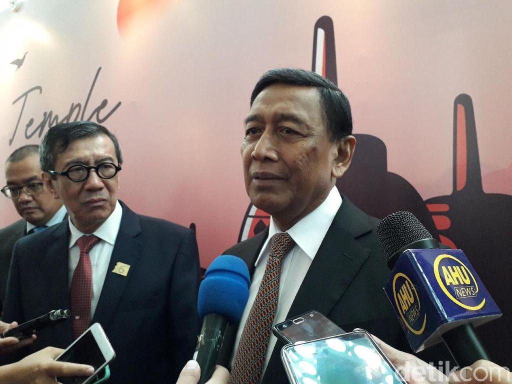 Wiranto Minta Kasus Pembakaran Surat Suara Diselesaikan Penegak Hukum