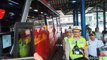 Kakorlantas Pantau Kesiapan Mudik di Terminal Cirebon, Ini Hasilnya