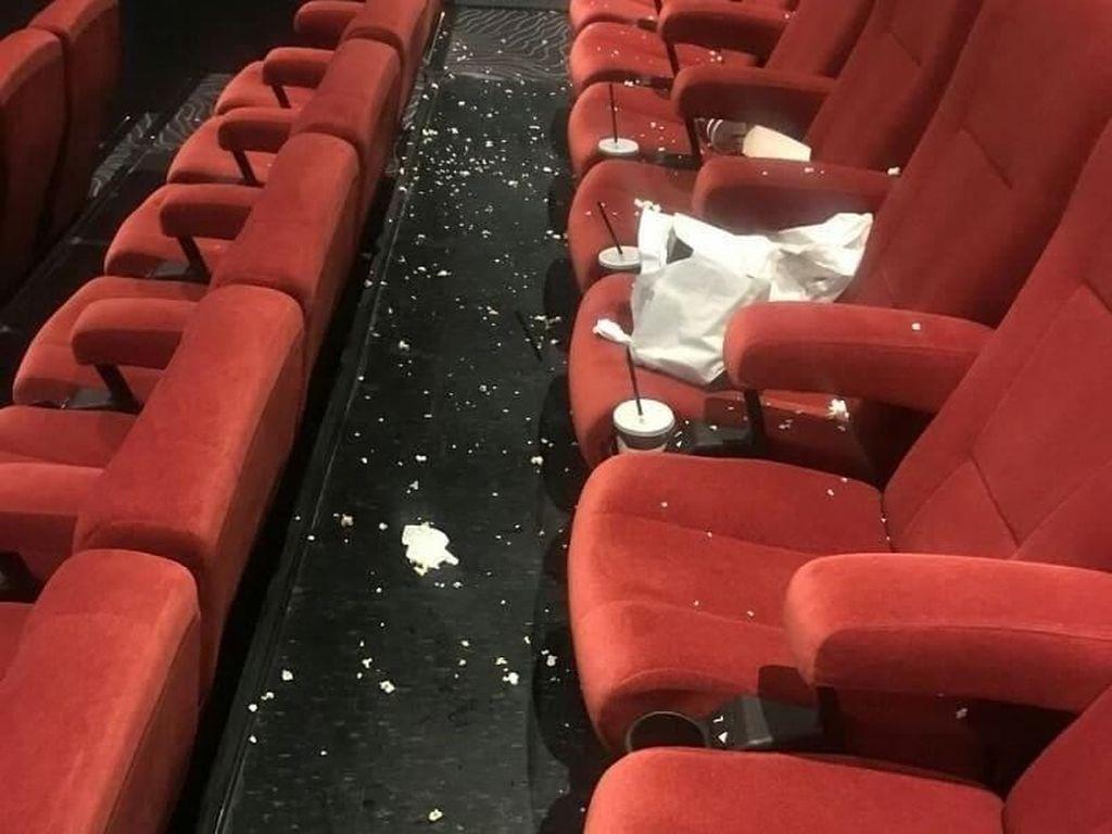 Usai Nonton Avengers:Endgame Tinggalkan Sampah Makanan, Ini Komentar Netizen
