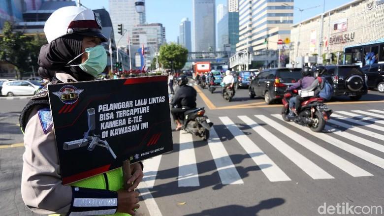 Polda Metro Jaya Gencar Sosialisasikan Tilang Elektronik