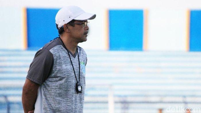 Aji Santoso, pelatih Persela Lamongan (Eko Sudjarwo/detikSport)