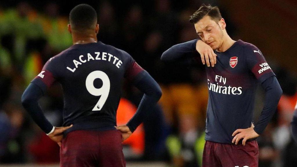 Arsenal yang Loyo Diterkam Wolves