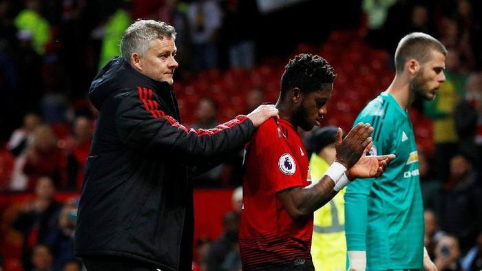 Manchester United dalam ancaman terjun bebas musim depan (Phil Noble/Reuters)