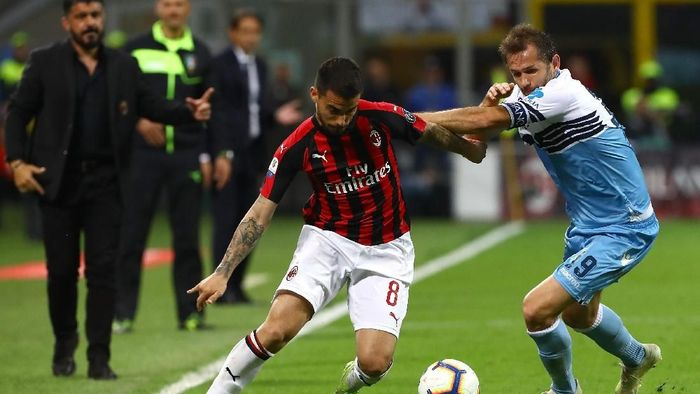 Arsenal kepayahan saat menjamu Lazio (Marco Luzzani/Getty Images)