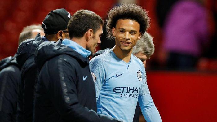 Pemain Manchester City, Leroy Sane, masih menjadi incaran Bayern Munich. (Foto: Phil Noble/Reuters)