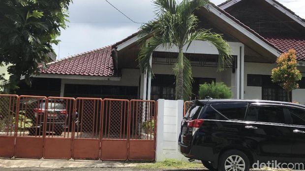 Rumah Muzni yang digeledah KPK.