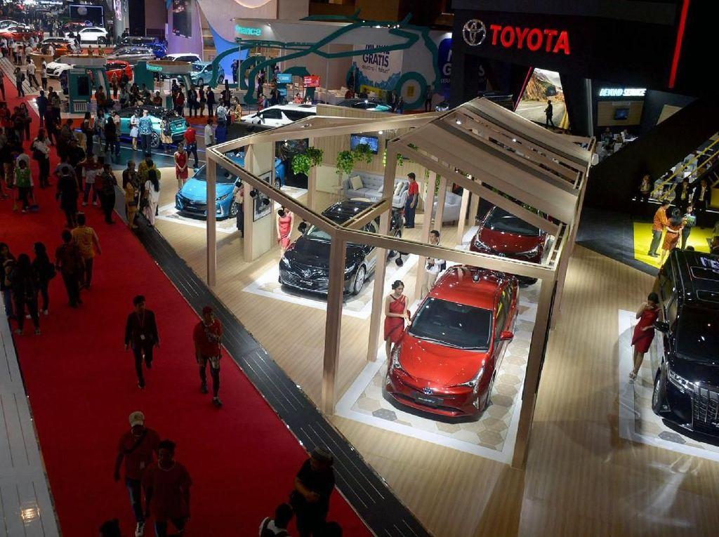Berkat Lebaran Penjualan Toyota Nanjak Pasca Pilpres